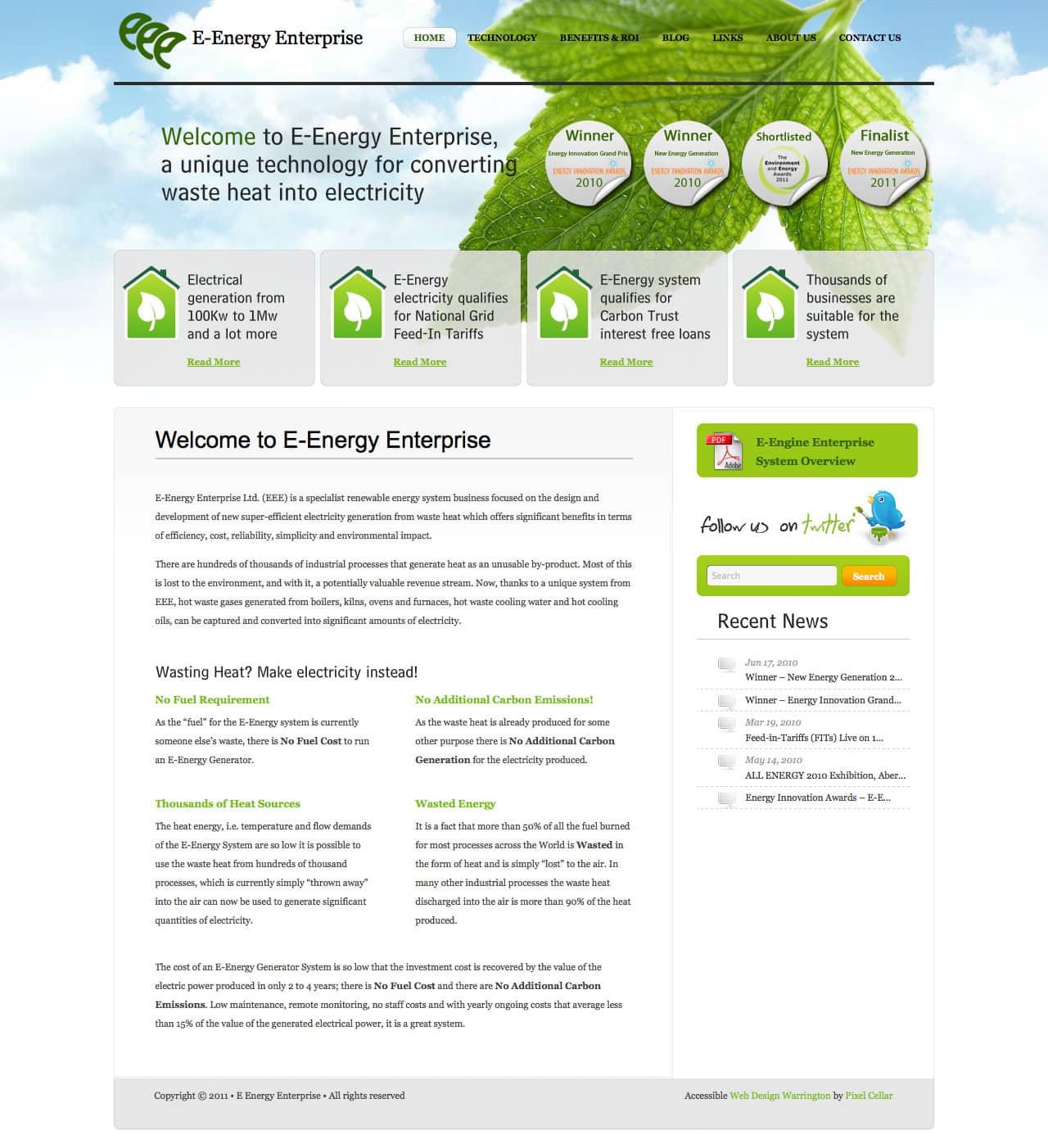 E Energy Enterprise | Pixel Cellar
